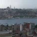 Istanbul Blick Galaterturm